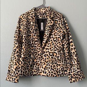 Nasty Gal leopard blazer!